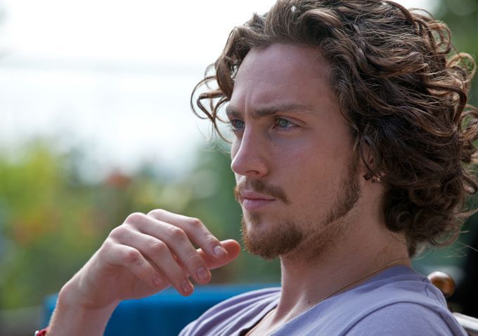 Aaron Johnson - yes, again. Who cares. I want.