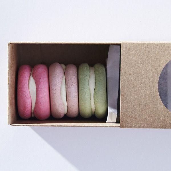 Three Macarons