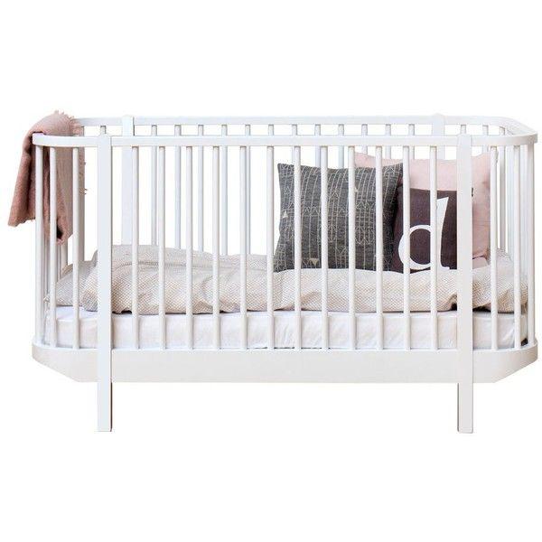 Wood Spjälsäng | Oliver Furniture | Länna Möbler | Handla online ❤ liked on Polyvore featuring baby and kids