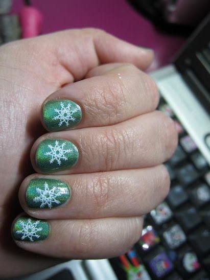 Negle Nymfer - En blog om neglelak: Indsendte Julenegle