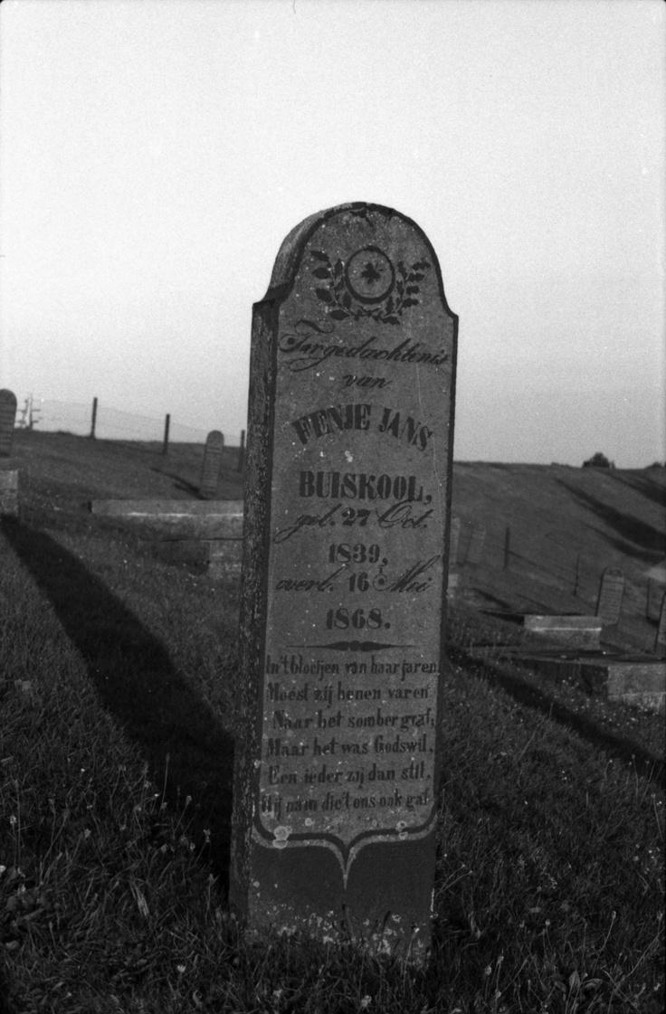 Gravestone at Oterdum