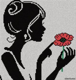 Cameos - σχέδια για κέντημα / cameo cross stitch patterns
