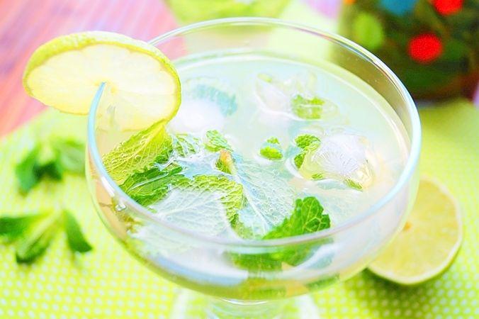 Majito sans alcool / Cocktail menthe-citron vert