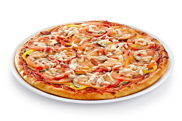 Pizza by Anatoly Vasiliev, via Behance