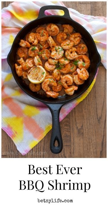 Best BBQ Shrimp recipe ever! Just in time for lent. Cook up this delicious barbeque shrimp for your Friday meal