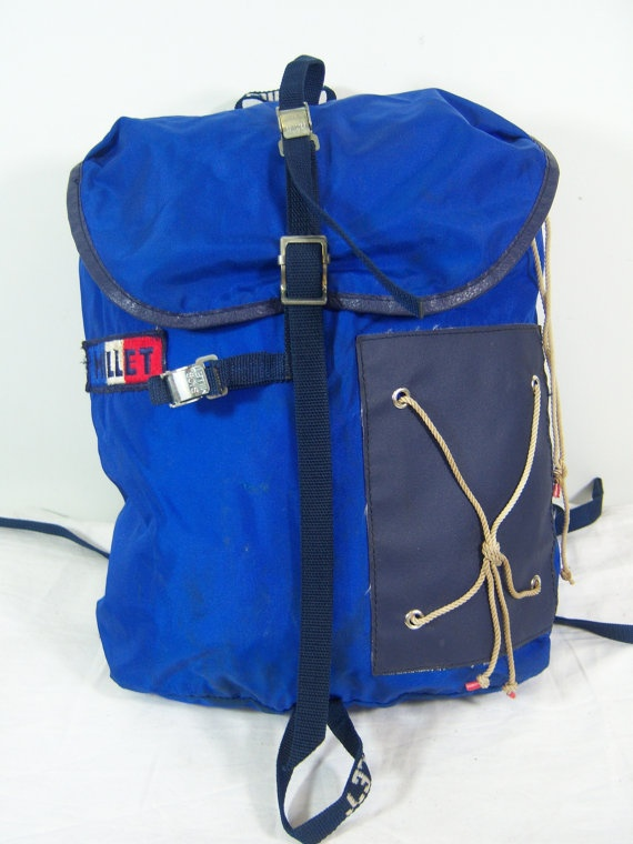 1970s Sacs Millet backpack daypack bag by takeahikemercantile, $120.00