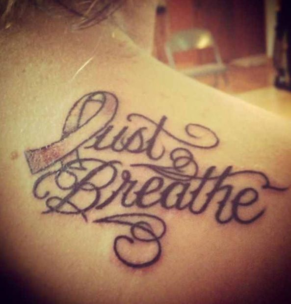 Lung Cancer Tattoo. RIP mom | tattoo | Pinterest | Cancer tattoos ...