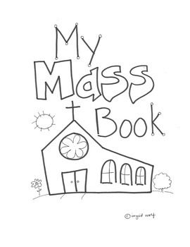 catholic coloring pages mass - photo#38