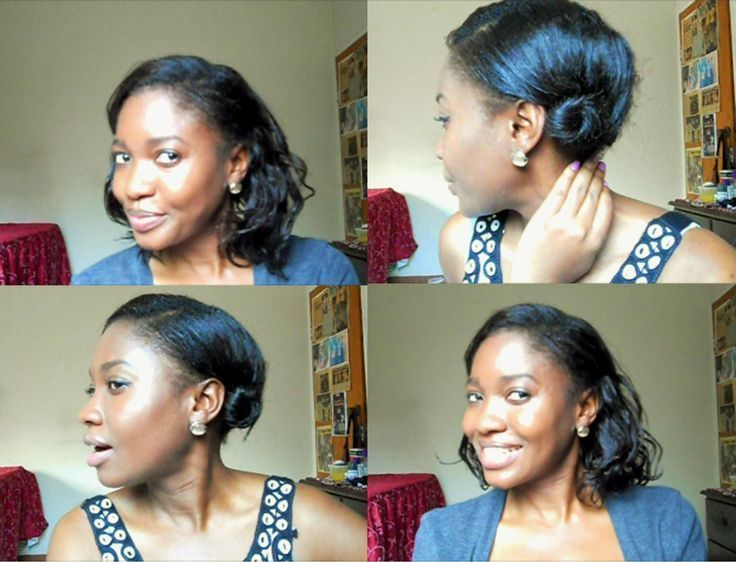 Hairstyles For Short Relaxed Hair Hairstyles Ha Ha Hair Hairstyles Kinnlang Relaxed Short Short Relaxed Hairstyles Relaxed Hair Short Hair Back