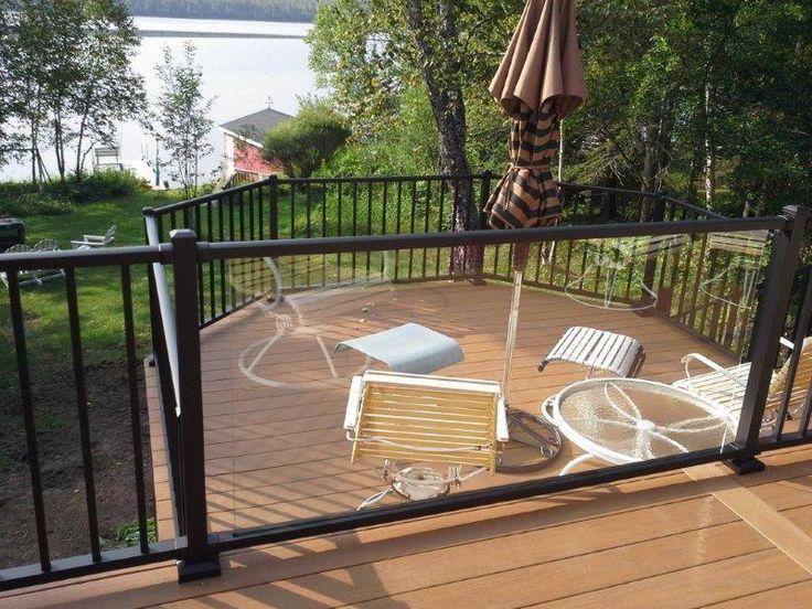 Wood Wizards Azek Deck With Westbury Aluminum Railing And