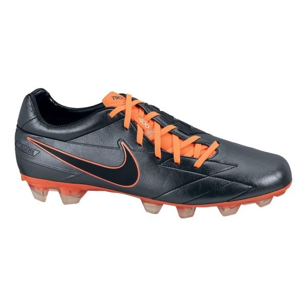 best service ff6ac af9d9 ... Nike Total90 Laser IV KL FG Zwart Oranje Adidas Predator ...
