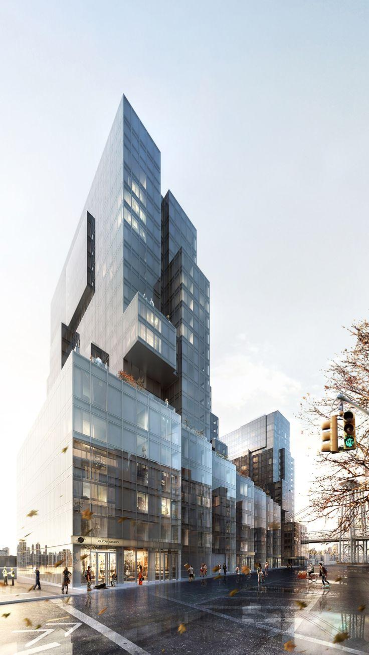 420 Kent Avenue by ODA New York in Brooklyn, New York, United Kingdom