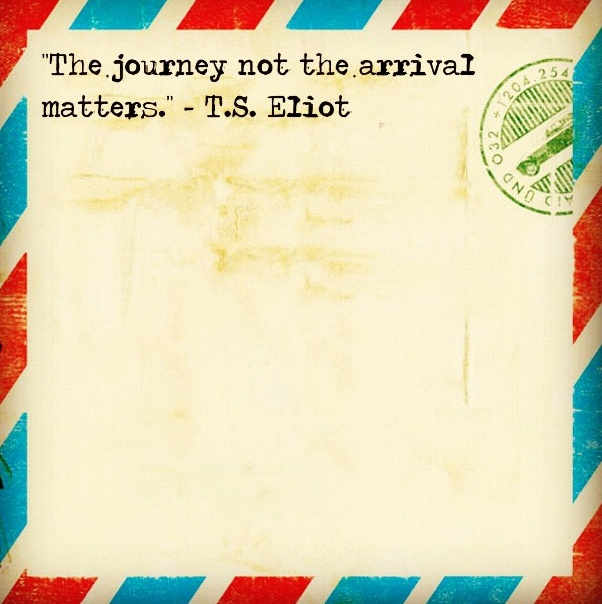 The Journey, not the Arrival Matters Essay Sample