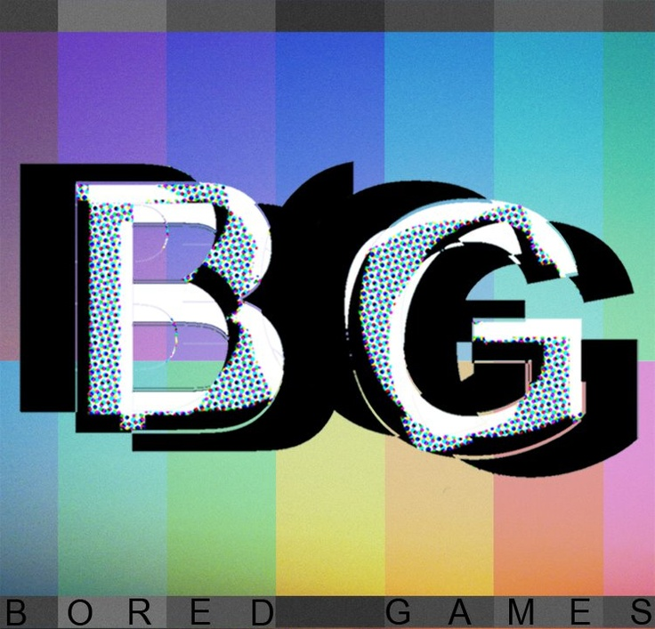 Bored Games EP Cover, 2011. (ryanjhughes).