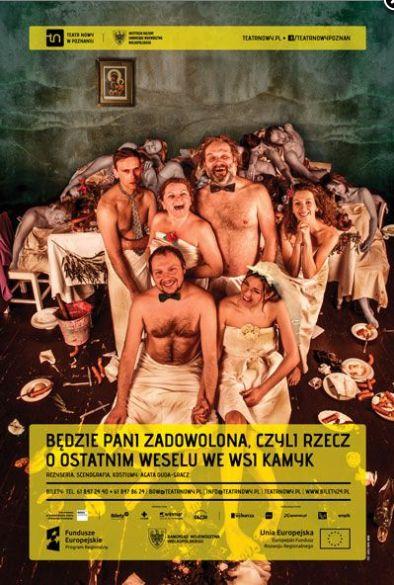 Taki weekend w Poznaniu to samo dobro. Bo i człowiek zjadł zapiekankę z pyr, niedietetyczną i nie-vege, z kożuchem zapieczonego żółtego sera, boczkiem i śmietaną (a co mi tam) i - świetny spektakl zobaczył. Dobrze, że w takiej kolejności, bo po przedstawieniu jakoś jeść mi się nie chciało. http://exumag.com/bedzie-pani-zadowolona/
