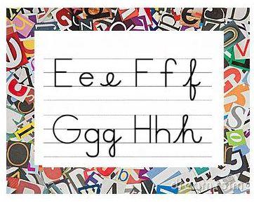 """Apprendre à lire avec des lettres en """"scripts"""" ou en """"cursives"""""""
