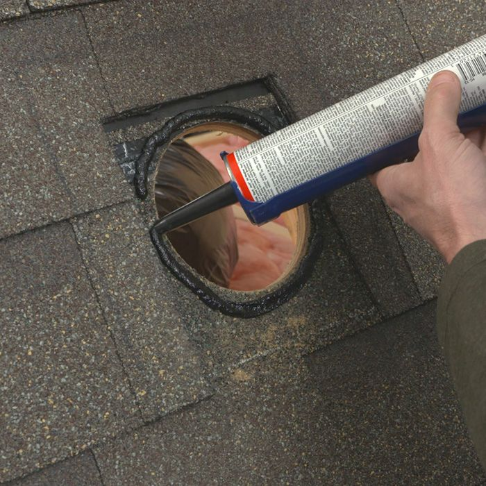 Sealing Around Roof Vent With