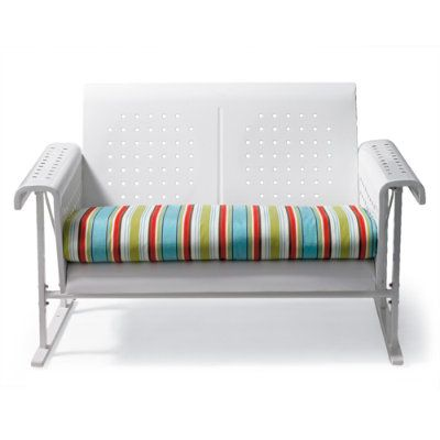 Free Retro Outdoor Loveseat Cushion Catalina Stripe Grandin Road Big Sofa  Laguna Magic Cream With Big Sofa Retro