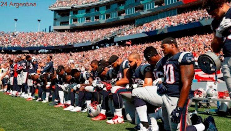 Trump niega que la protesta de la Liga de Fútbol Americano tenga que ver con la cuestión racial