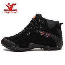 US $54.00 XIANG GUAN Waterproof Hiking Boots camping For Men Outdoor trekking Mens Hiking Shoes big size 36-48 Snow Boots Trekking Shoes. Aliexpress product