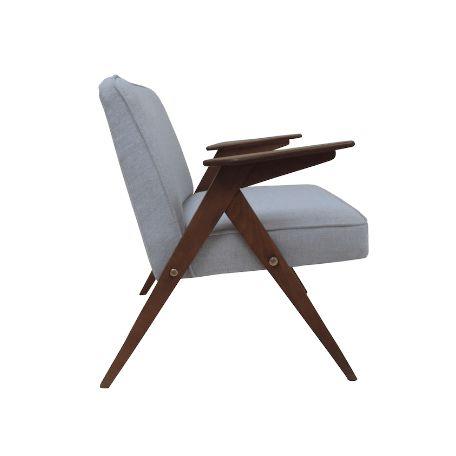 """Fotel """"Bunny chair"""" - świetny fotel o prostej, drewnianej konstrukcji oraz…"""
