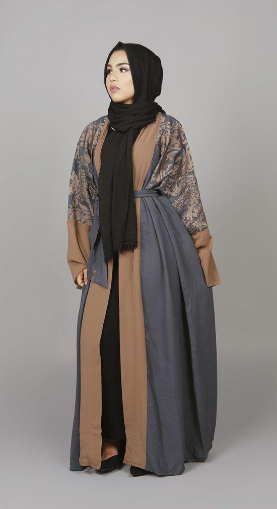 2c5b8ff054007 Dusk Flare Abaya | Black Abayas | Luxury Abayas | Miss Abaya | Abaya ...