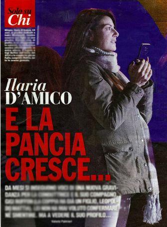 Ilaria D'Amico aspetta secondo figlio da Gigi Buffon