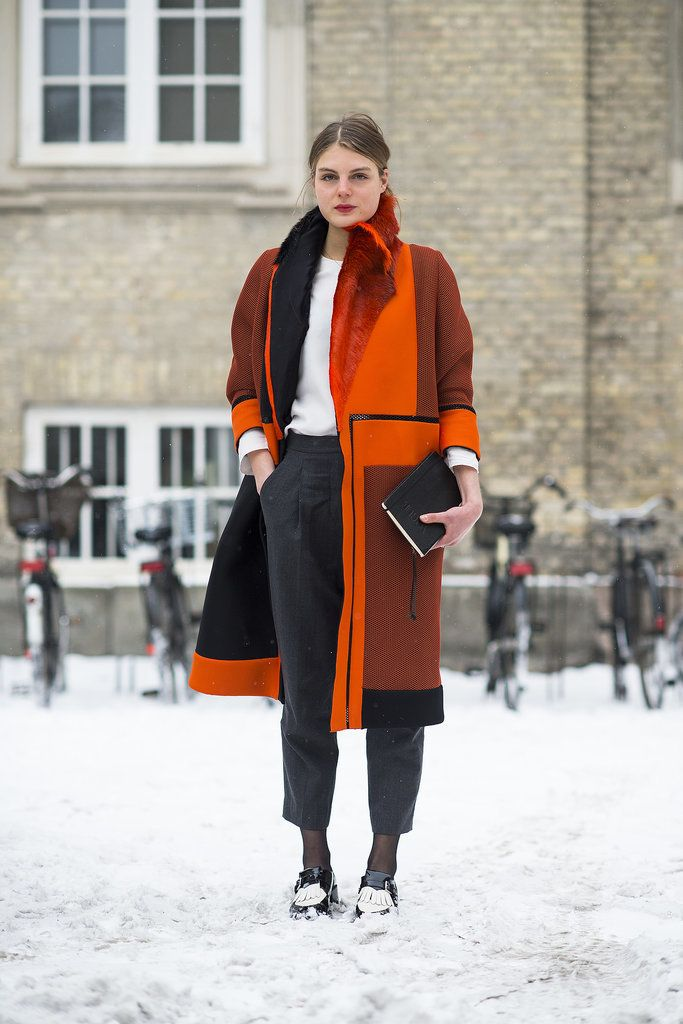 Orange you glad she added some wow-factor color?