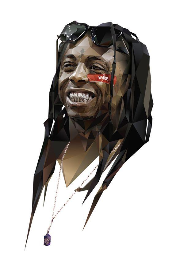 Skillz! - Lil Wayne by Ryan Barber, via Behance