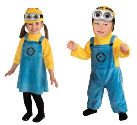 MINION (YELLOW) FANCY DRESS OUTFIT TODDLER BY RUBIES