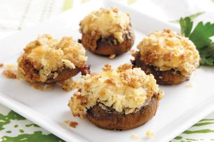 PHILLY Stuffed Mushrooms recipe