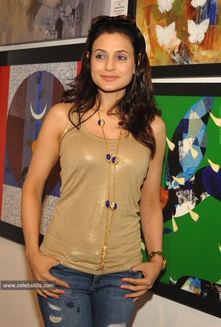 Ameesha Patel At Colors of Life-Crafted Change Art Exhibition Inauguration In Mumbai