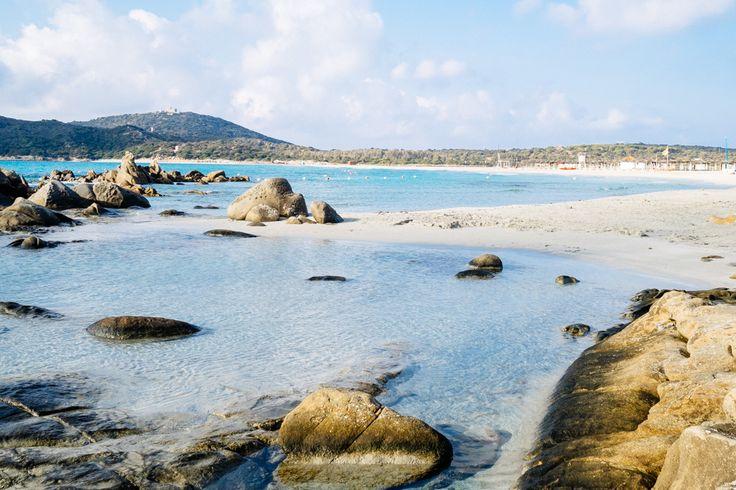 Notteri Beach in Villasimius