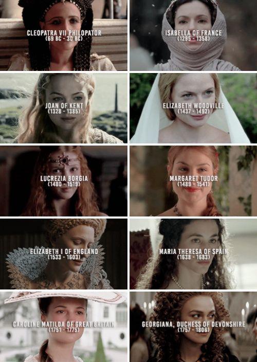 top twenty favourite historical female figures [part 2 of 2]