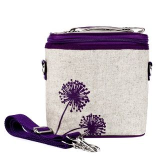 So Young Large Cooler Bag Purple Dandelion Why should kids have all the fun? Use it as a bottle bag for baby, pack your child's drinks and snacks in it, or leave the kids at home and take your lunch with you wherever you go. $44.95 #sweetcreations #baby #nursery #kids #newparents #parenting