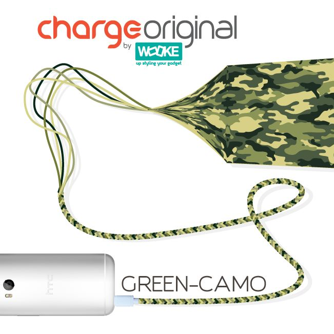 ChargeOriginal a stylish high speed charging USB cable! by Wooke Store