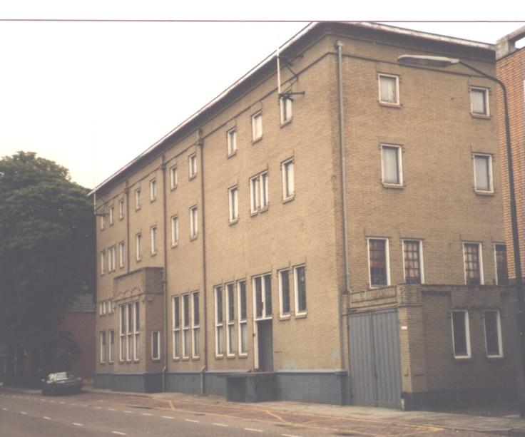 De Vullinghsfabriek in Heeze. Afgebroken in 1987 en plaatsgemaakt voor den Albert Heijn