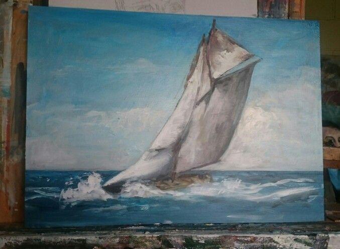 The flying schooner