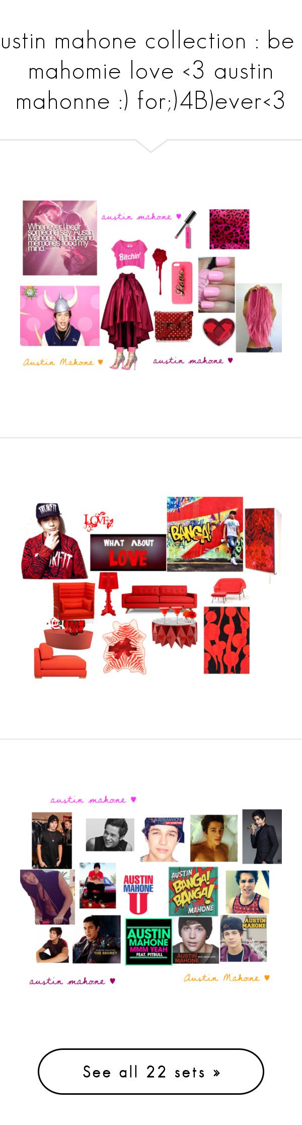 """""""austin mahone collection : be a mahomie love <3 austin mahonne :) for;)4B)ever<3"""" by sarah4551 ❤ liked on Polyvore featuring interior, interiors, interior design, home, home decor, interior decorating, Bobbi Brown Cosmetics, Steve Madden, FC Select Vegan Bags and Swarovski"""