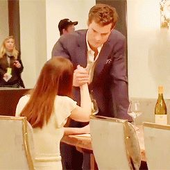 Jamie & Dakota - behind the scenes
