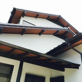 切妻屋根の三重奏