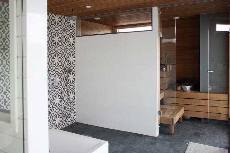 Kylpyhuone kohteessa Villa Muurame, Asuntomessut 2014 Jyväskylä