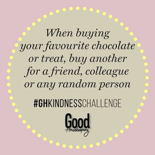 67 daily acts of kindness: Here are some easy ways you can make someone's day... #MandelaDay #GHKindnessChallenge