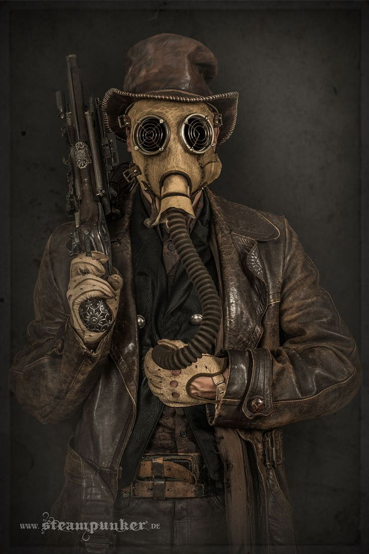 Artist Creates Steampunk Costumes From Old Parts He Finds In A Flea Market