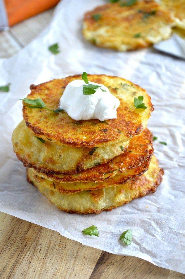 How to make fried mashed potato cakes