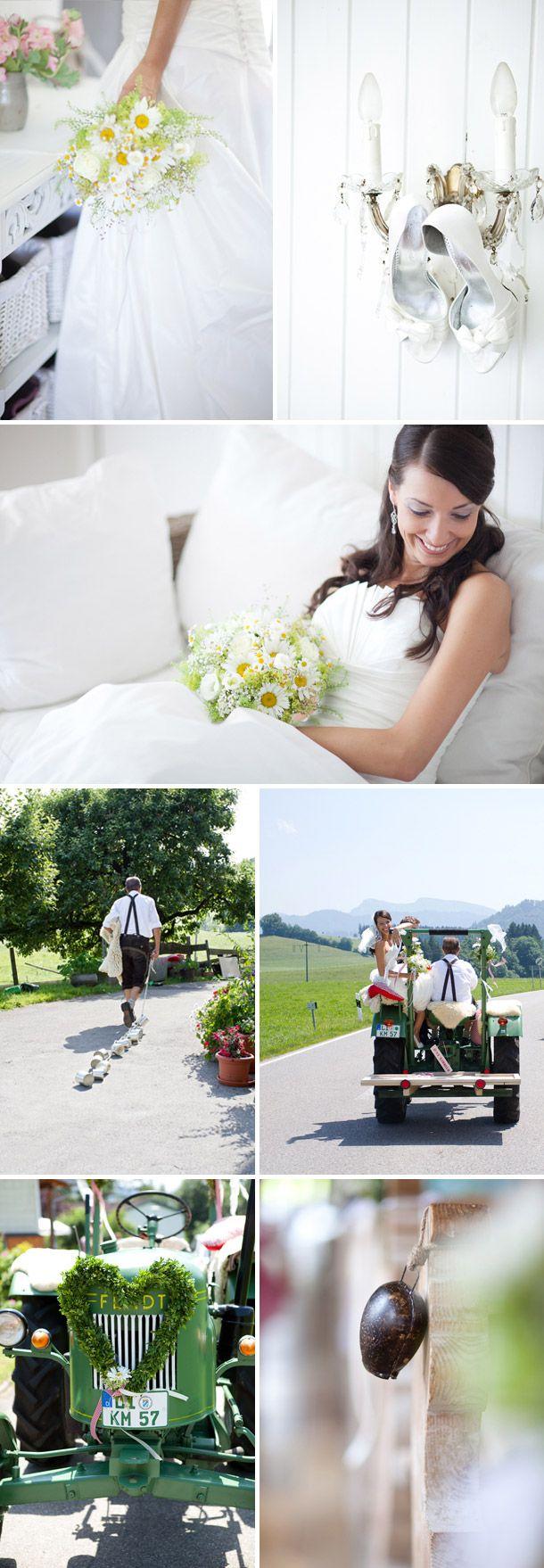 Rustikale Allgäu Hochzeit