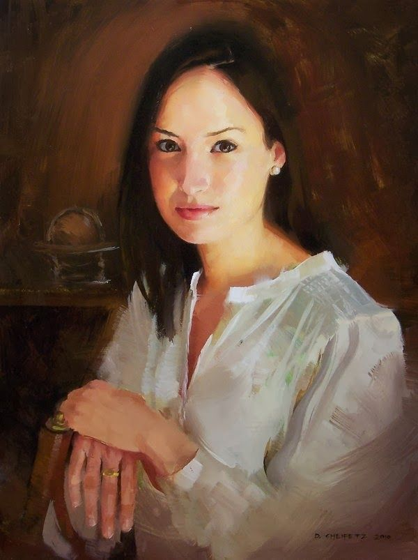 Beautiful Portrait Paintings by David Cheifetz