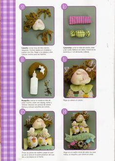 Mimin Dolls: Boneca com doces