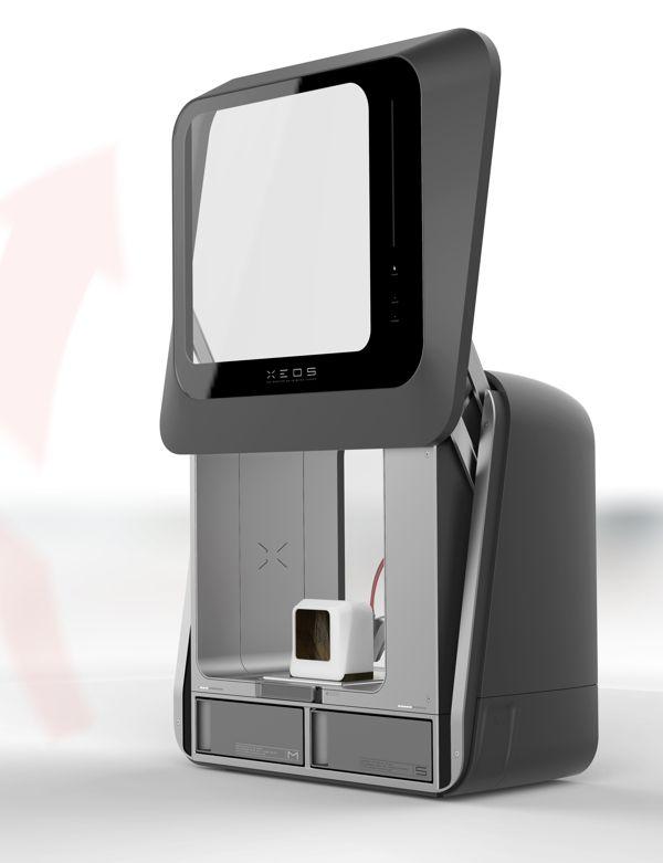 XEOS 3D - The desktop 3D-printing revolution by Stefan Reichert, via Behance