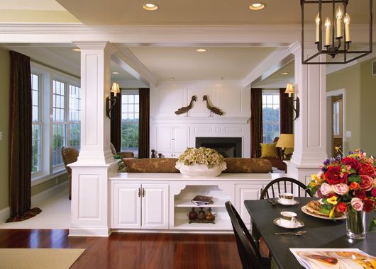 100 ideas to try about house room dividers craftsman - Built in room dividers ...